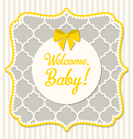 grey: Baby shower in shabby chic style