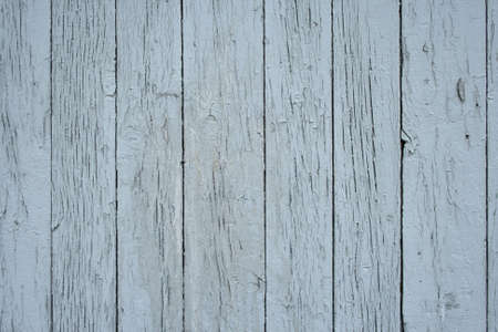 Blue painted wood texture – detail of a wooden fence.  photo