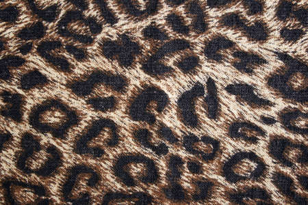 spotted: Leopard spotted fabric background. Cheetah fur pattern.