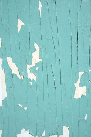 peeling paint: Peeling vernice verde texture.