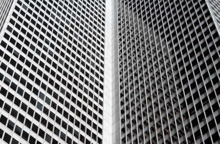 edificio corporativo: Dentro de esquina de un edificio corporativo, recordando un libro abierto.