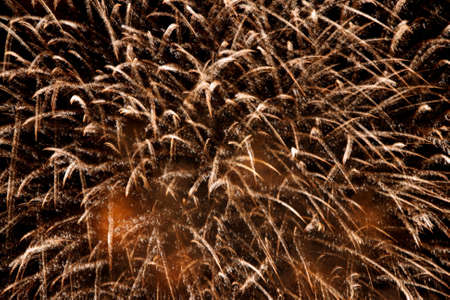 cascade: Abstract fireworks background. Cascade of sparks.
