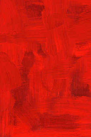 art painting: Abstract crimson oil painting. Highly detailed brush strokes. Stock Photo
