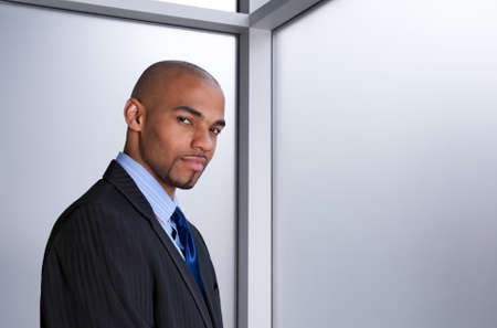 Young good-looking businessman beside an office window. Stock Photo - 9517212