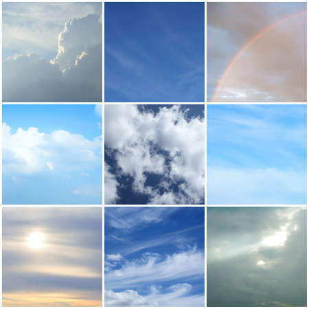 Different moods of the sky  Different weather and time of the day Stock Photo - 12844370