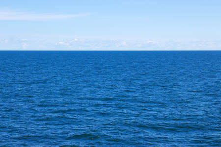 View over the Baltic sea on a calm summer day  Standard-Bild