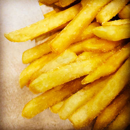 Fast food  Greasy and salty French fries