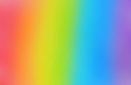 Bright and smooth rainbow background. Defocused image. 写真素材