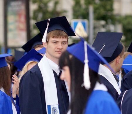 29. Juni 2013, der Stadt Chelyabinsk, Absolventen der Universit�t. Editorial