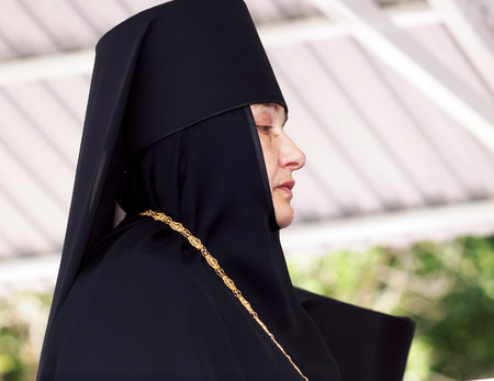 according to the scriptures: 5 July 2013 ,the city Krasnousolsk , Bashkortostan,Russia   The feast of the Tabynsk icon of the Mother of God - the main Shrine of the believers of the southern Urals and Orenburg regions, Abbess of the Holy Tabynsk convent hegumeness of John