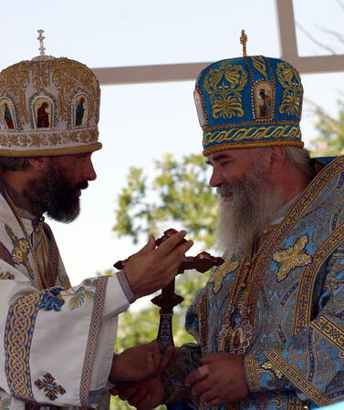 according to the scriptures: 5 July 2013 ,the city Krasnousolsk , Bashkortostan,Russia   The feast of the Tabynsk icon of the Mother of God - the main Shrine of the believers of the southern Urals and Orenburg regions, Bishop Buzuluk and Sorochinskiy ALEXY, Bishop of Salavat and Kume Editorial