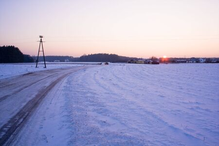 The winter in Poland photo