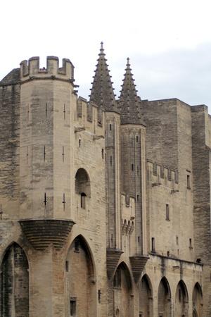Palais of the Popes at Avigion, France. Stock Photo - 10807681