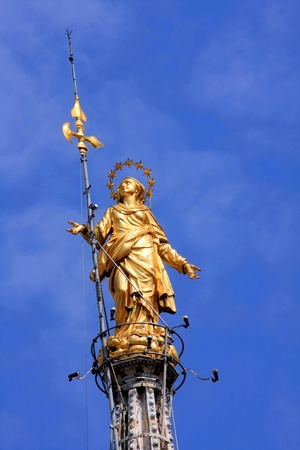 Milan cathedral, know as Duomo,italy 版權商用圖片