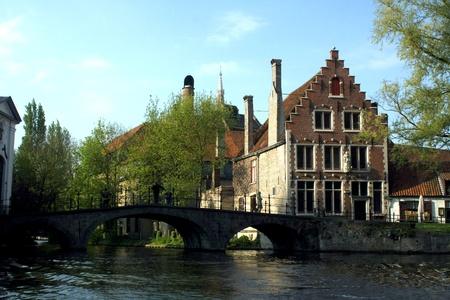 flemish: Typical Flemish Architecture in Antwerp Belgium