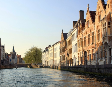 Typical Flemish Architecture in Antwerp Belgium