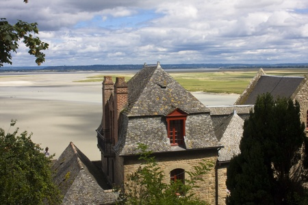 Mont Saint Michel. France photo