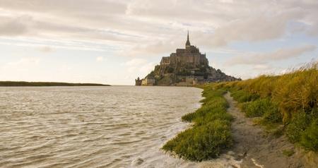 Mont Saint Michel. France photo