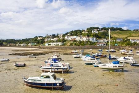 harbour in Gorey, Jersey, UK