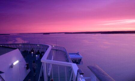 the sunrise Big cruise photo