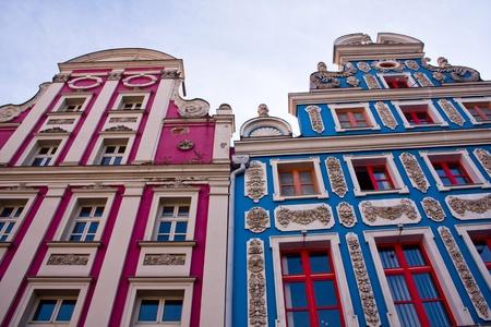 Town Houses in Szczecin 版權商用圖片