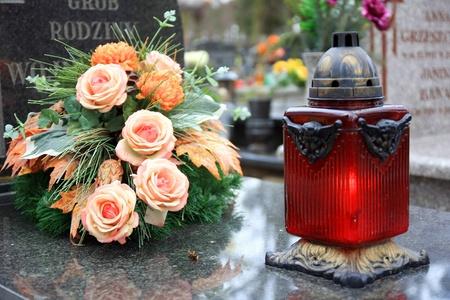 burying: Cementery in Poland