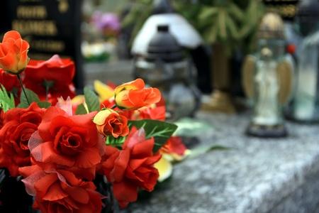 Cementery in Poland
