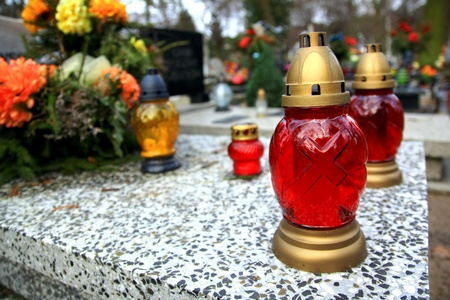 gravesite: Cementery in Poland