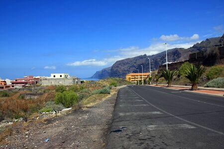 paisaje en Puerto Santiago, Los Gigantes, Tenerife, Espa�a Foto de archivo - 13525834