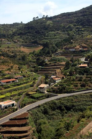 vallehermoso: La Gomera, Canary Island, Spain