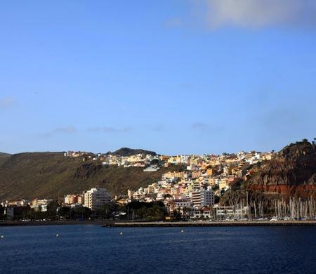 san sebastian: San sebastian city in La Gomera, Canary island, Spain