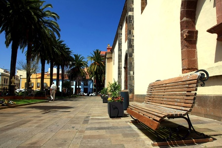 the beauty city La Laguna in Tenerife, Canary isnalds, Spain