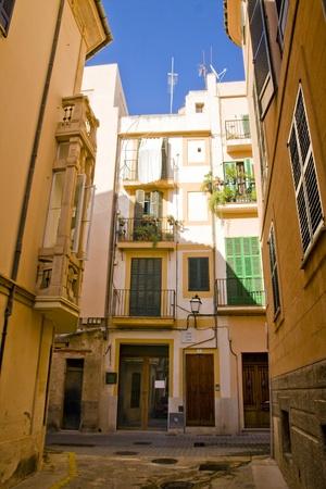 The mainstreet in Palma de Mallorca, Mallorca, Balearic islands, Spain