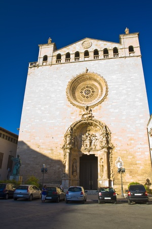 church in Majorca at Palma de Mallorca Spain photo