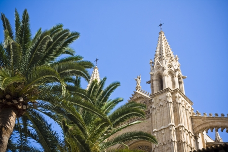 Cathedral of Palma de Majorca, Spain photo