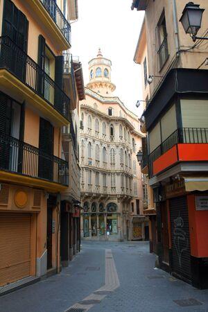 The mainstreet in Palma de Mallorca, Mallorca, Balearic islands, Spain photo