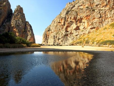 Majorca Island,  Pareis Sa Calabra  Canyon and coast Sa Calobra