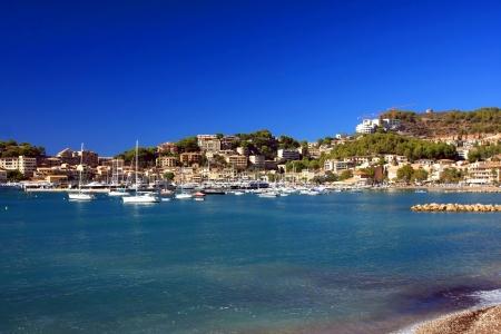 Port of Soller Lighthouse, Majorca, Spain