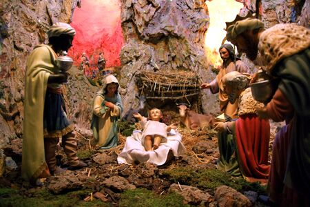 nativity scene Stock Photo - 14974239