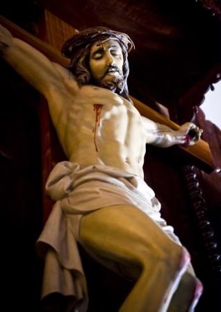 jesus on the cross: Jesus Christ