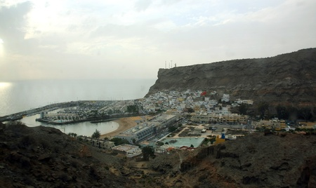 The dreamy and wild mountains of Gran Canaria in Spain Stock Photo - 14876138