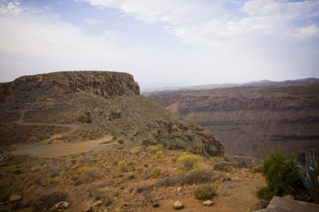 The dreamy and wild mountains of Gran Canaria in Spain  Stock Photo - 14876157