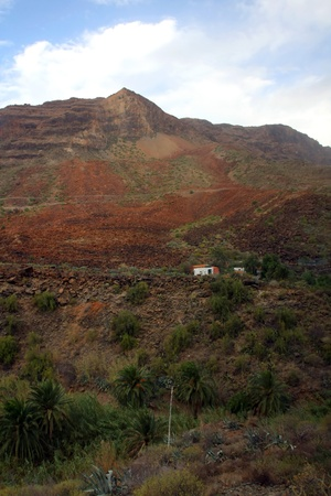 The dreamy and wild mountains of Gran Canaria in Spain  Stock Photo - 14876164