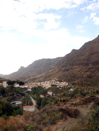 The dreamy and wild mountains of Gran Canaria in Spain  Stock Photo - 14876140
