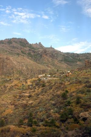 A beautiful mountain scape panorama in Gran Canaria, Spain Stock Photo - 14876171