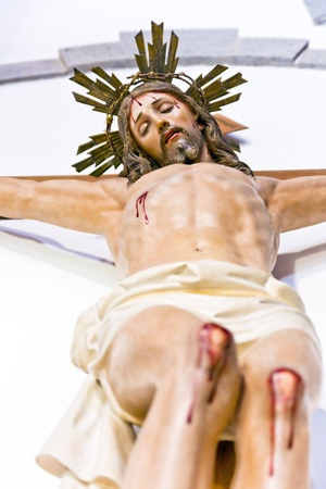 the statue of Jesus Christ photo