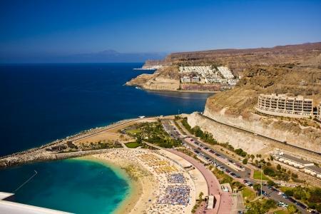 Puerto Rico ith amazing scape on coastline , Gran Canaria, Spain