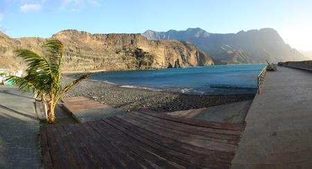 gran canaria: Agaete, Gran Canaria, Spanje Stockfoto