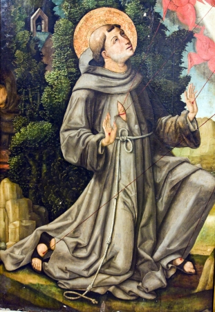 St Francis Stock Photo