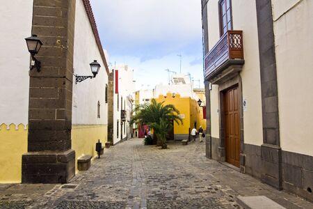 casa colon: Main street in Las Palmas de Gran Canaria, Gran Canaria, Spain
